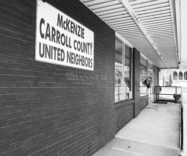 United Neighbors serves area indigent citizens from its location on Cedar Street.