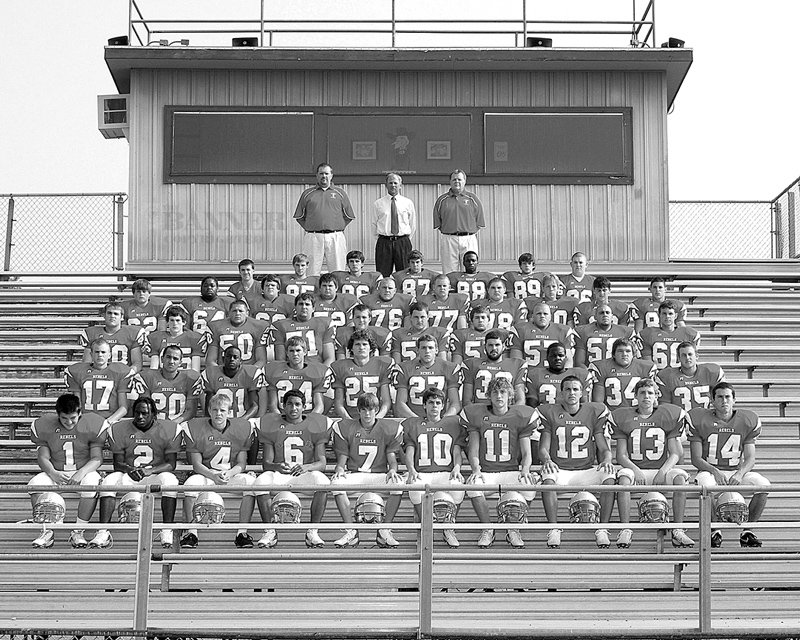 The 2007 McKenzie Rebels were 13-2 for the season and finished runner-up in state championship.