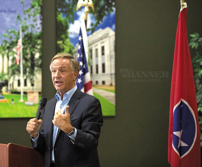 Governor Bill Haslam explains his ideas on improving today's political climate.
