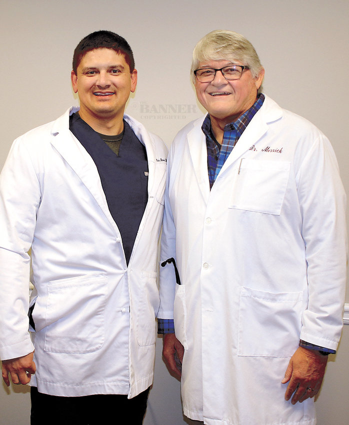 Dr. Will Merrick and Dr. Bryan Merrick.
