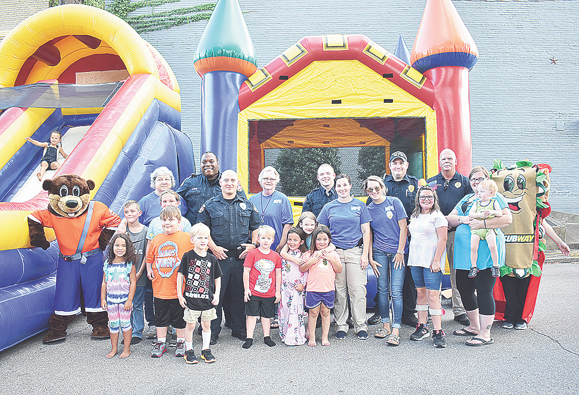 MPD's block party was a big hit with the kids, offering a variety of activities for youngsters of all ages.
