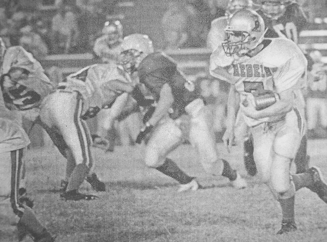 20 YEARS AGO — Rebel Dusty Laster makes a large gain in McKenzie's 13-12 win over Riverside.
