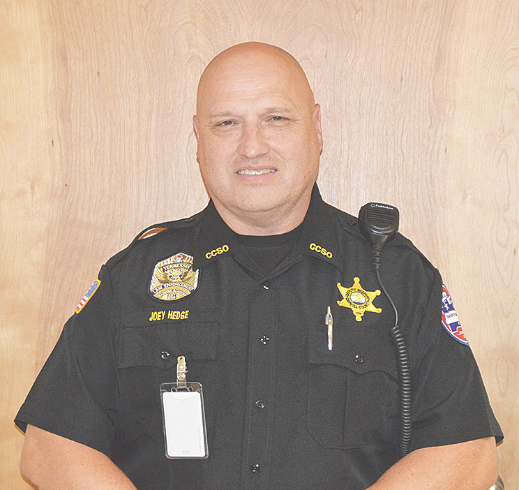 New West Carroll SRO Joey Hedge.
