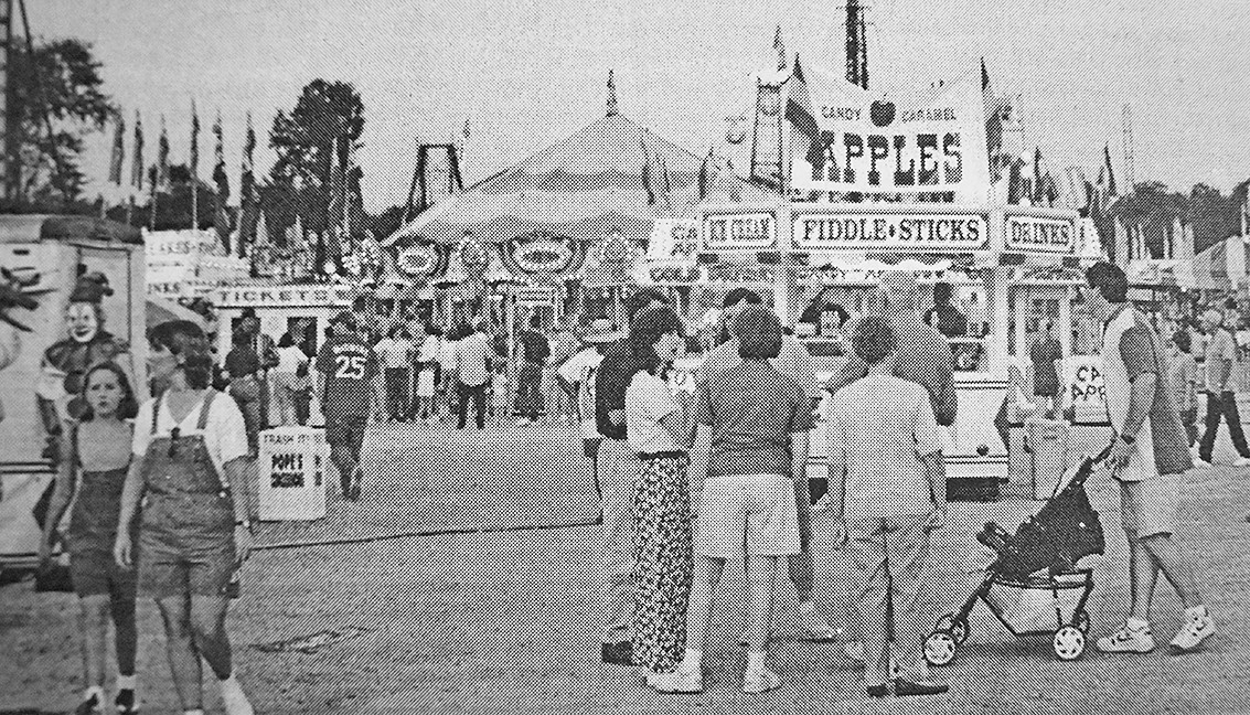 20 YEARS AGO — The Carroll County Fair returned to the Carroll County Civic Center.