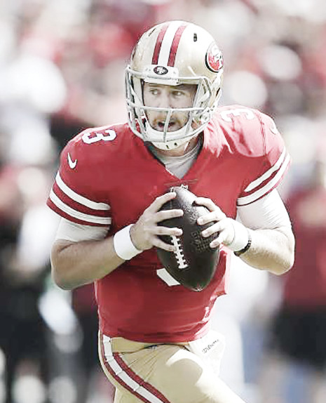 San Francisco 49ers quarterback C.J. Beathard.