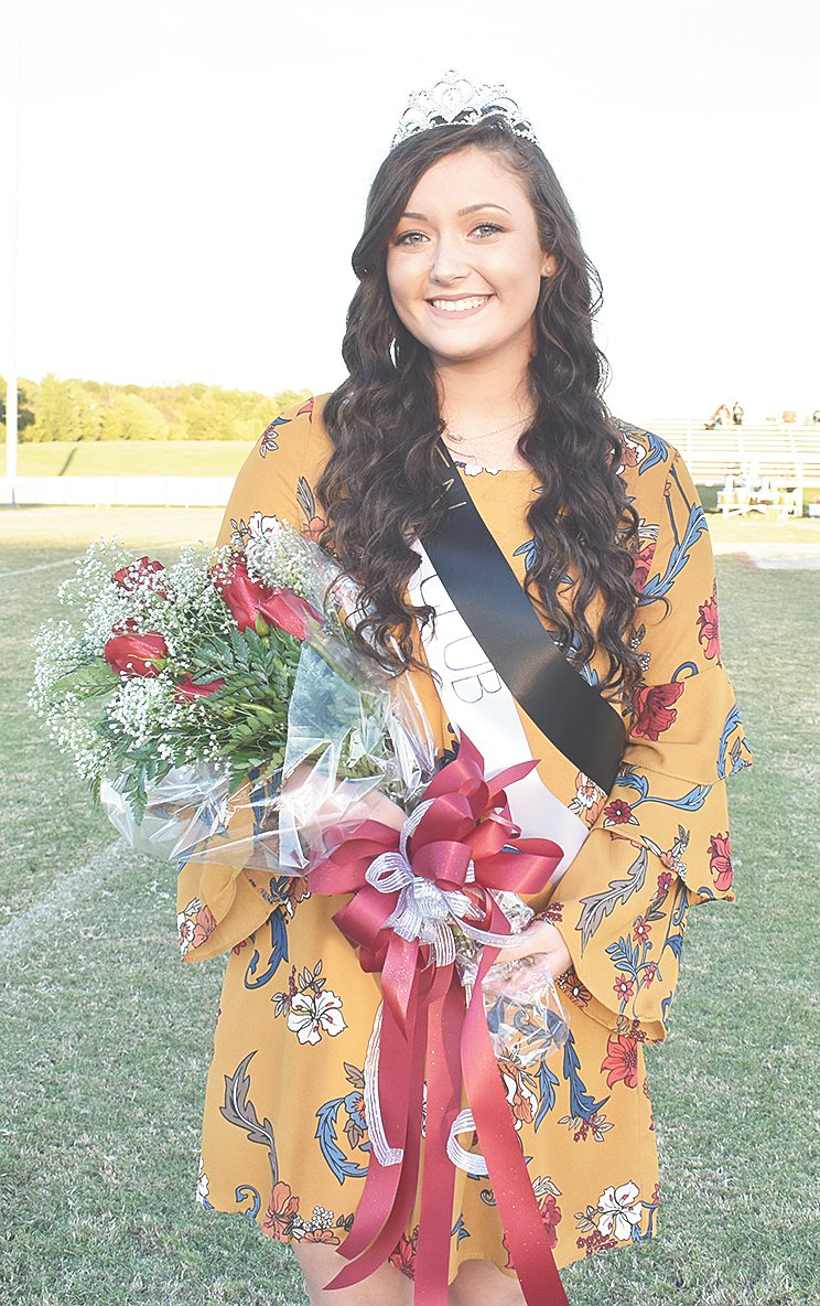 Sadie Martin was crowned West Carroll Homecoming Queen. She is a senior chosen to represent the Spirit Club on the Homecoming Court and the daughter of Adam and Christy Martin.