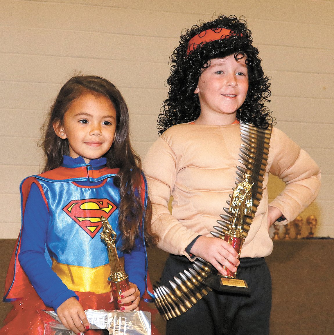 MES Fall Fest King and Queen – Bella Barton and Camden Papich.
