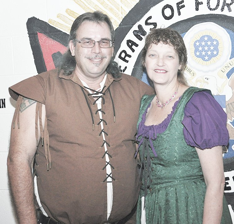 Third place in the couples division was Brian and Kim Cook as Robin Hood and Maid Marian.