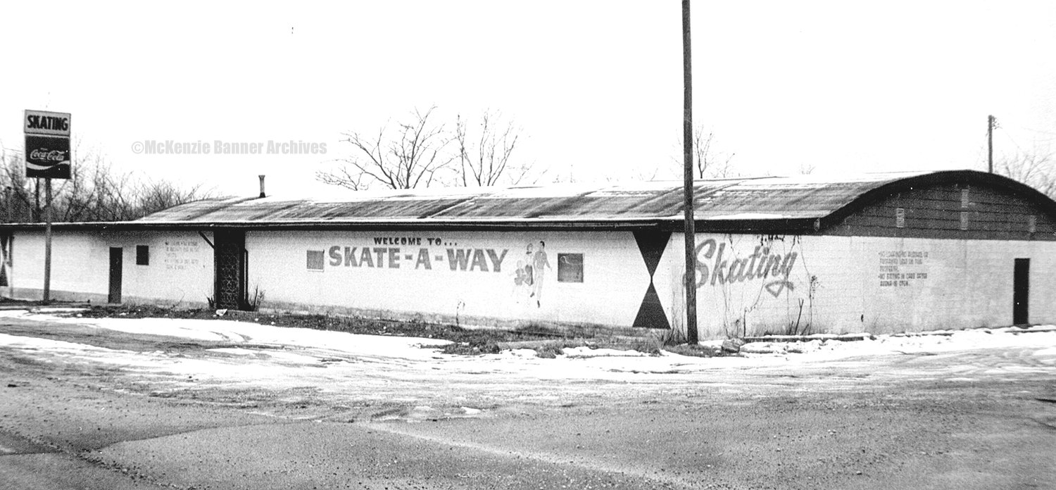 Skate-A-Way Skating Rink located on the Trezevant Hwy. was a popular attraction for young and old alike in the 1970s.