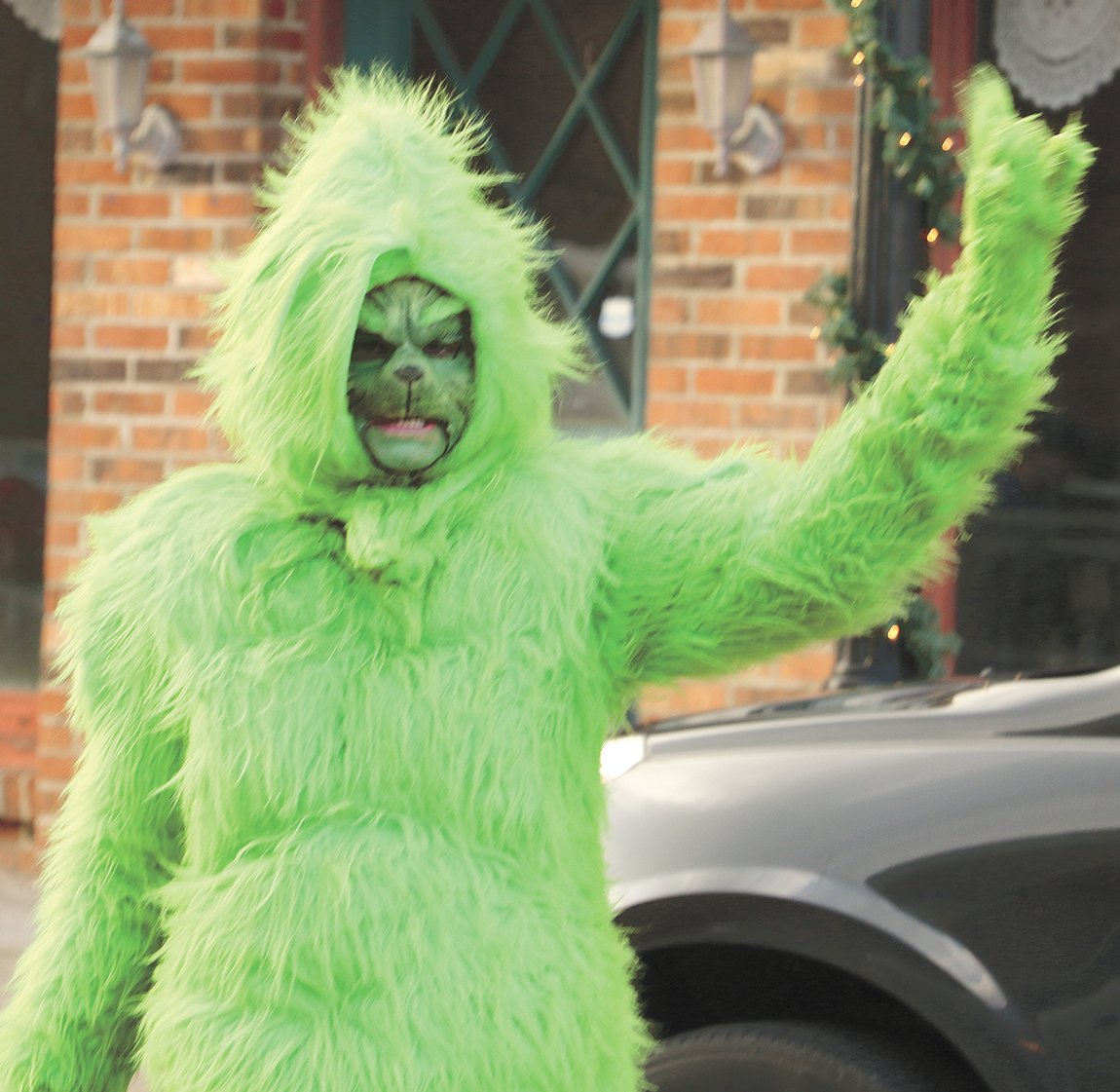 The Grinch – Brenda Lowery won second in the miscellaneous division.