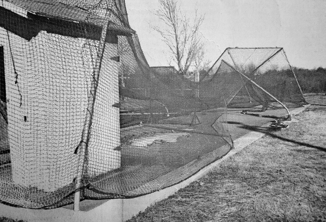 20 YEARS AGO — The Little League batting cage at McKenzie Recreation Park was damaged by a winter windstorm. There was minor but widespread damage throughout the county, resulting in some power outage