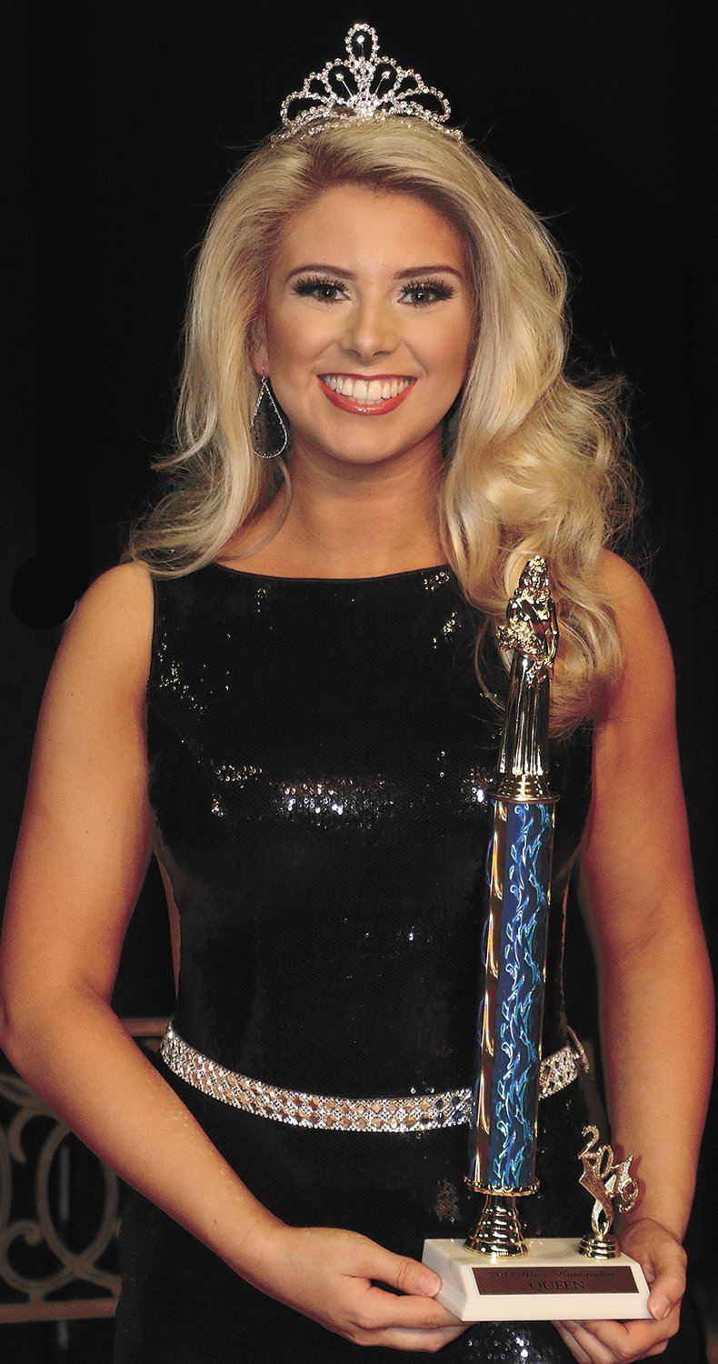 Miss Huntingdon High School Kaitlynn Batey, daughter of Chad Batey and Jamie Magee.