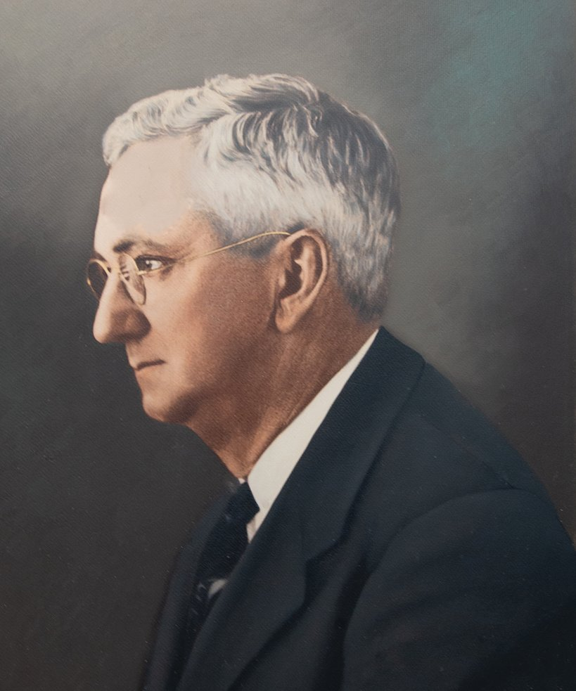 Ben T. Everett, Sr., partner in U-Tote-'Em. He served as the first president of McKenzie Banking Company.