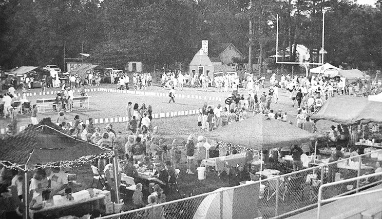 10 YEARS AGO — Carroll North Relay for Life, held for the first time at Rebel Stadium, raised $77,485.