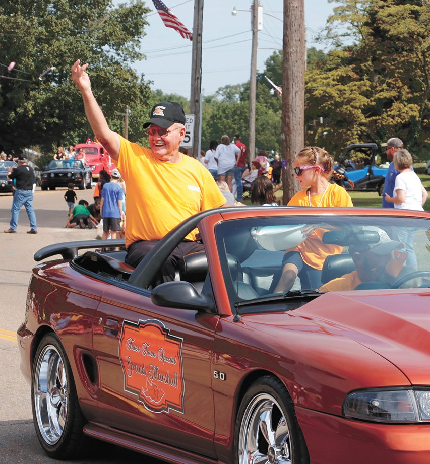 Jimmy Belew was the grand marshal of the Tater Town Special Parade.