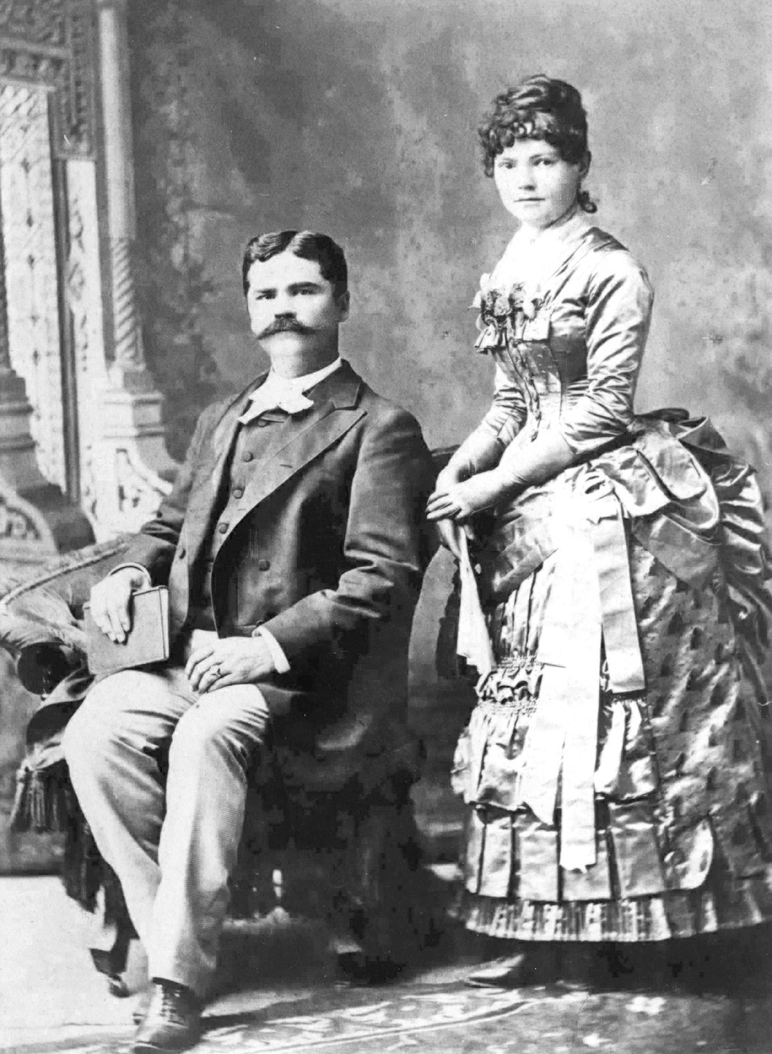Zachary (1849–1906) and Ada Collier (1854–1939) were married in 1874.