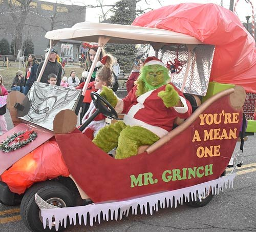 "FSB Insurance took second place with ""You're a Mean One, Mr. Grinch."""