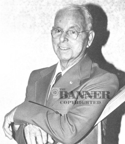 J. Frank Barlow was publisher of The McKenzie Banner from 1949 to 1968.
