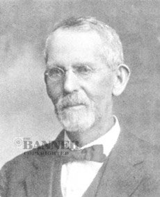 Benjamin Portius Moore (1848–1929) partnered in the McKenzie's largest drygoods store and was the first president of the Bank of McKenzie.