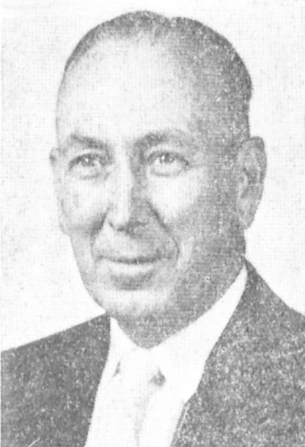 Otis Cox taught agriculture at McKenzie before being elected Carroll County Superintendent of Education. Photo taken in 1957.