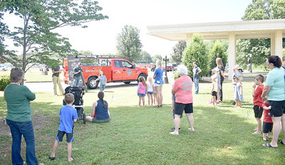 West Tennessee Public Utility District representatives, led by marketing manager Madison Endres, presented a program about natural gas at Thursday's Summer Reading.