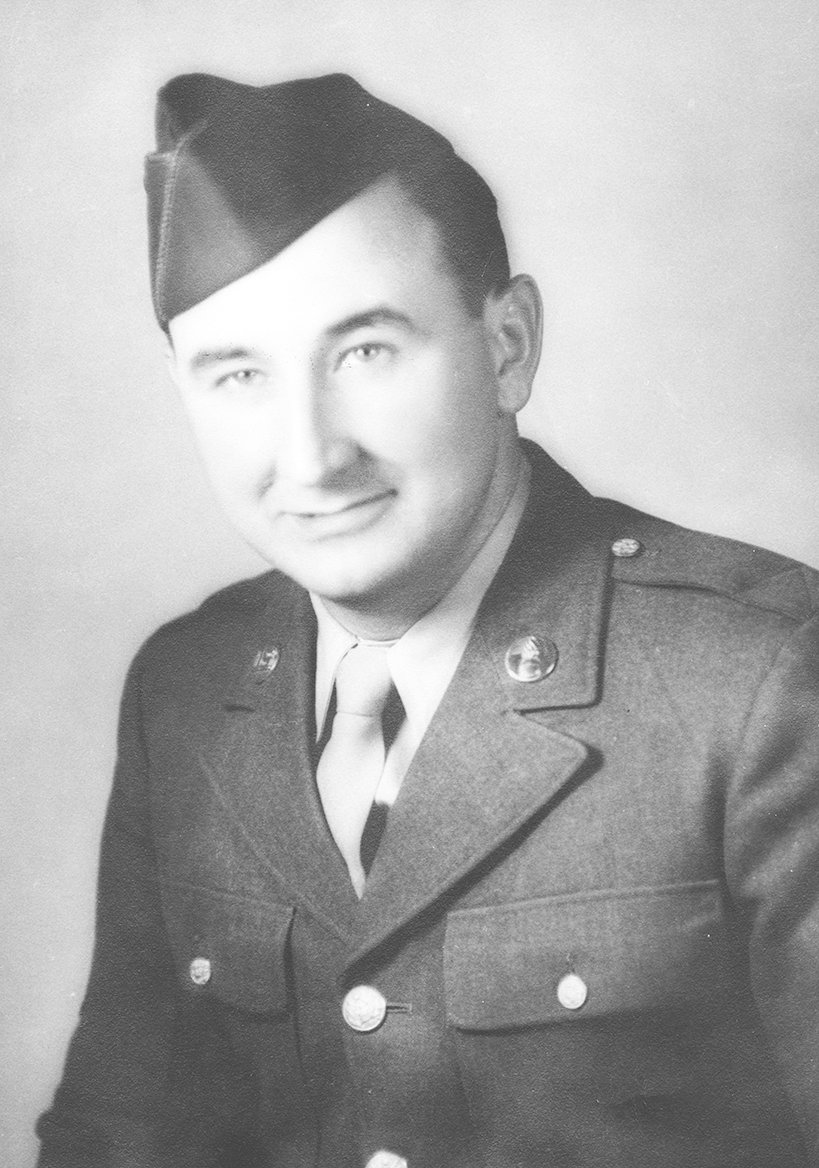 In January 1944, Swat Scarbrough was stationed in Oahu, Hawaii serving at Schofield Barracks.