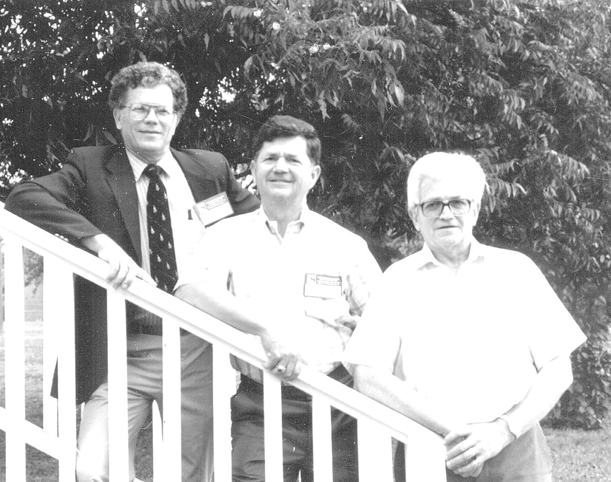 Long-time Bethel supporters and brothers (L to R): Joe Morris, Ray Morris and Jack Morris.