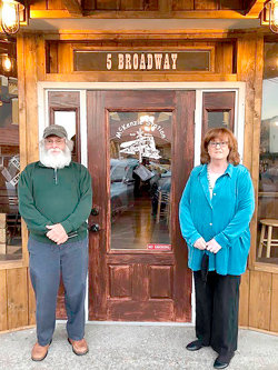 Joe and Denise Sam are the owners of McKenzie Station Bar and Grill.