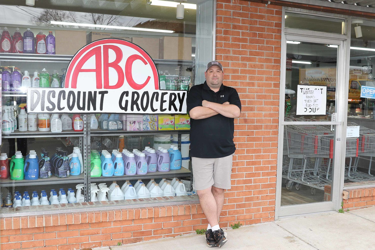 Jay Cooper opened ABC Discount Grocery in 2020.