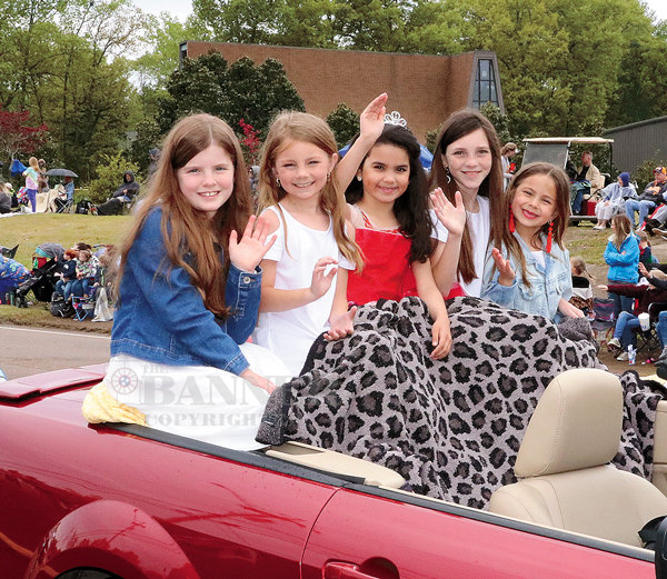 Little Miss McKenzie — Lola Batton - queen, Sammi Mathis - first maid, Maggi Webb - second maid, Merritt Ghyers - third maid and Claire Wilkins - fourth maid.