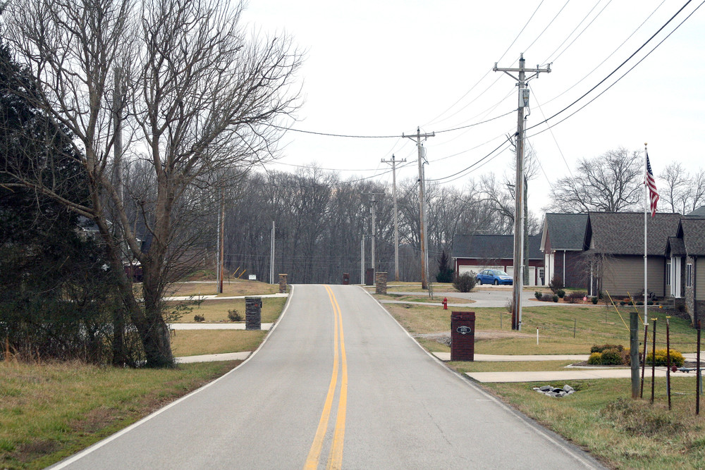 A former county planner raised concerns Tuesday evening about the placement of mailboxes on Ditty Road.