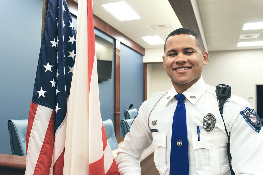 Assistant Chief Tony Reid is ready to take charge of the Cordova Police Department. Reid, 26, has been with the department since 2013. He has served as assistant chief since October 2017.