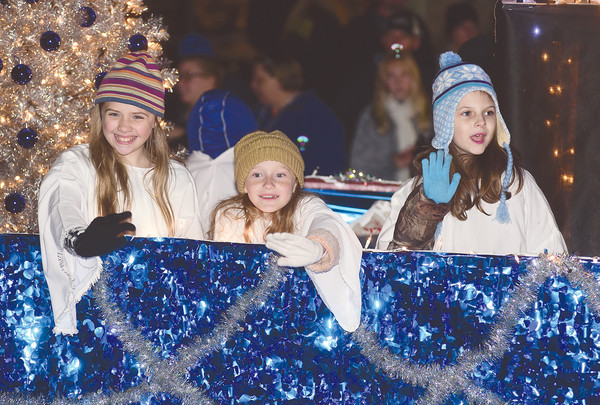Thousands of people lined the streets of downtown Jasper Tuesday night for the annual Chamber of Commerce of Walker County Christmas parade that included more than 100 entries from across central Alabama.