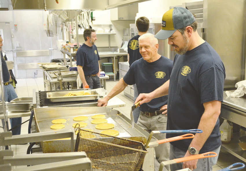The Kiwanis Club of Jasper held their annual pancake breakfast Saturday morning at Bevill State Community College. Proceeds from the event benefit a number of local organizations.