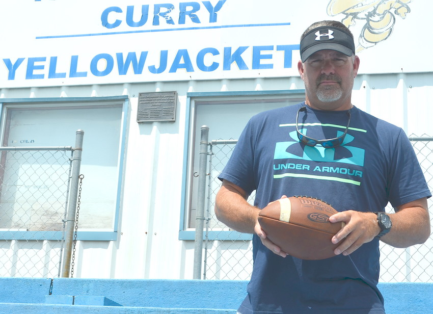 Jeff Foshee is the new head football coach at Curry. Foshee was part of Alabama's 1992 national championship team and was the head coach at Class 6A Stanhope Elmore for 16 years, guiding the team to the playoffs 12 times.