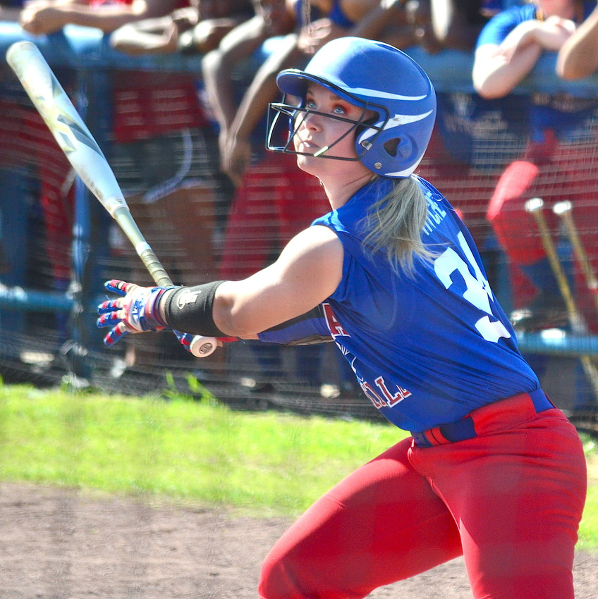 Cordova's Emma Hyche hit over .570 for the second straight season. She is the Daily Mountain Eagle Elite Softball Hitter of the Year.
