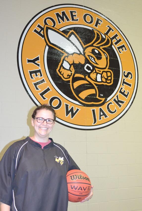Britani Faile is the new Corner High School varsity girls basketball coach. She served as the Yellow Jackets' JV girls coach last season.