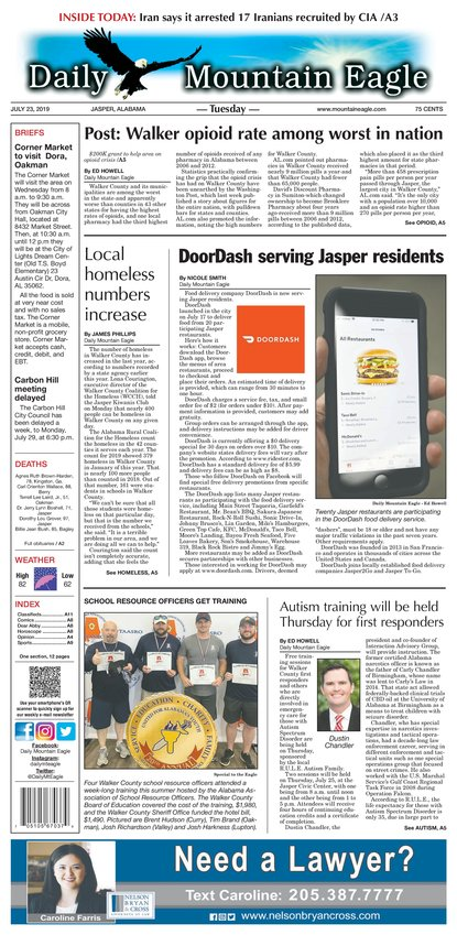 County's financial woes top story of 2017 | Daily Mountain Eagle