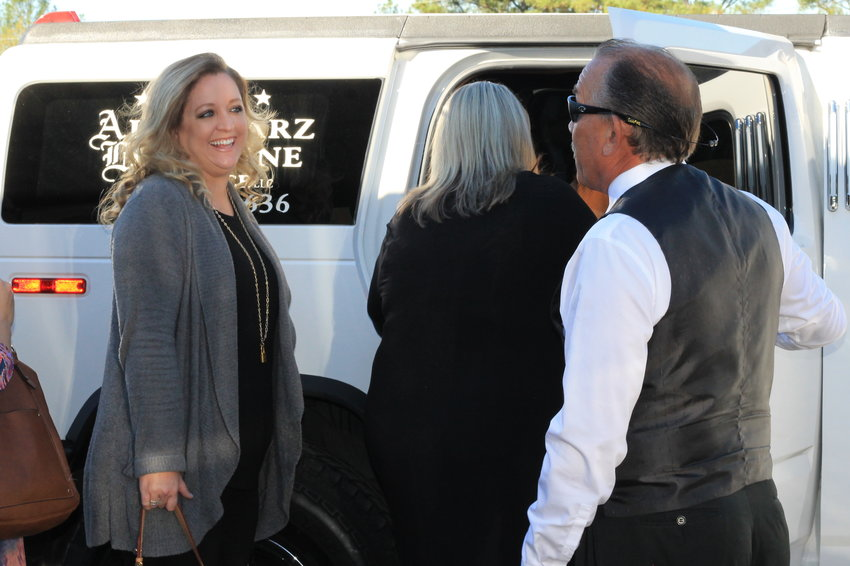 Cordova Elementary School Principal Dianne Williams hired All Starz Limousine to take teachers to lunch on Thursday to thank them for their work, which helped the school earn an A on the state report card. It was Parent Visitation Day and the teachers were called to the school early for what they believed was a training workshop. Students were rewarded with a pizza party last week.