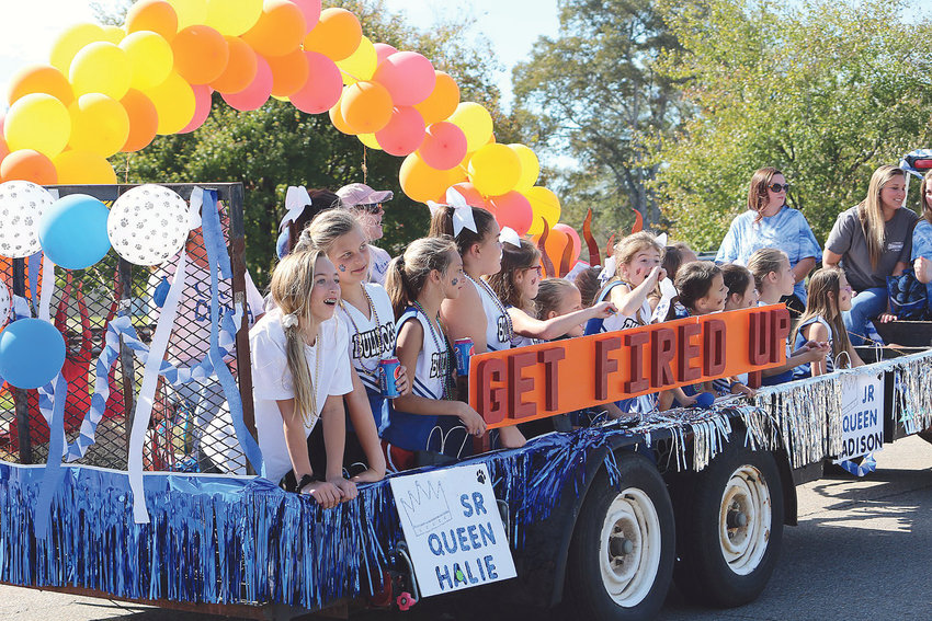 Carbon Hill High students started off homecoming festivities at the school with a parade through downtown Carbon Hill Thursday afternoon, then saw their Bulldogs defeat Holt 28-23 on the field Thursday night.
