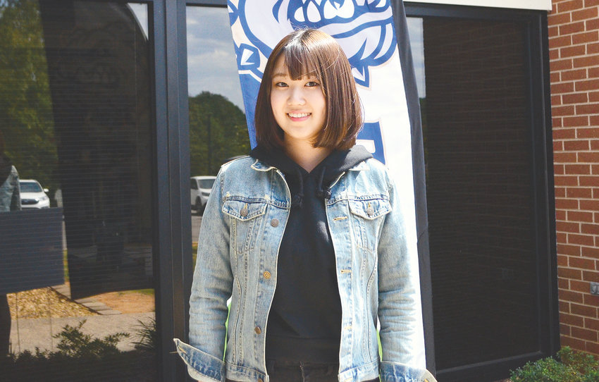 Ami Kasai is spending the 2019-20 school year as an exchange student at Dora High School.