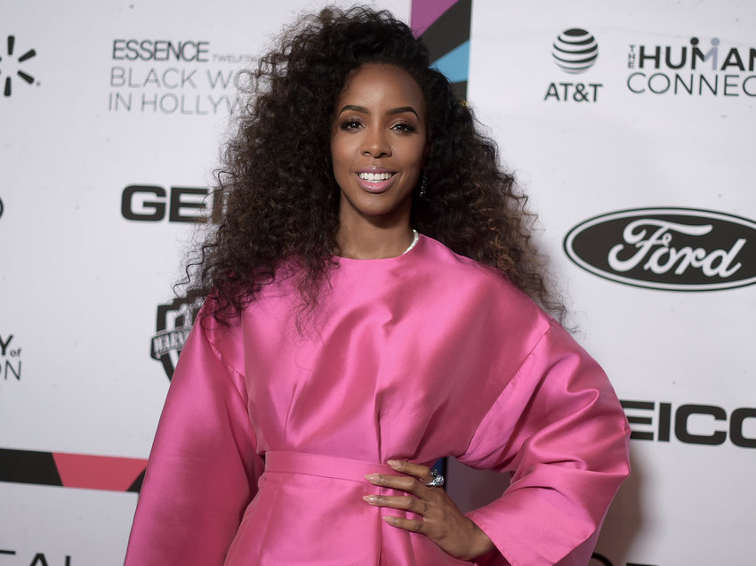 Kelly Rowland attends the 12th Annual ESSENCE Black Women in Hollywood Awards at the Beverly Wilshire Hotel on Thursday, Feb. 21, 2019, in Beverly Hills, Calif. (Photo by Richard Shotwell/Invision/AP)
