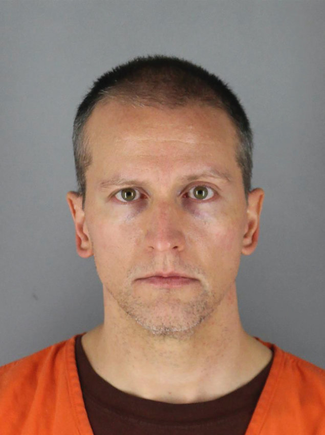 This May 31, 2020 photo provided by the Hennepin County Sheriff shows former Minneapolis police officer Derek Chauvin, who was arrested Friday, May 29, in the Memorial Day death of George Floyd.  (Hennepin County Sheriff via AP, File)
