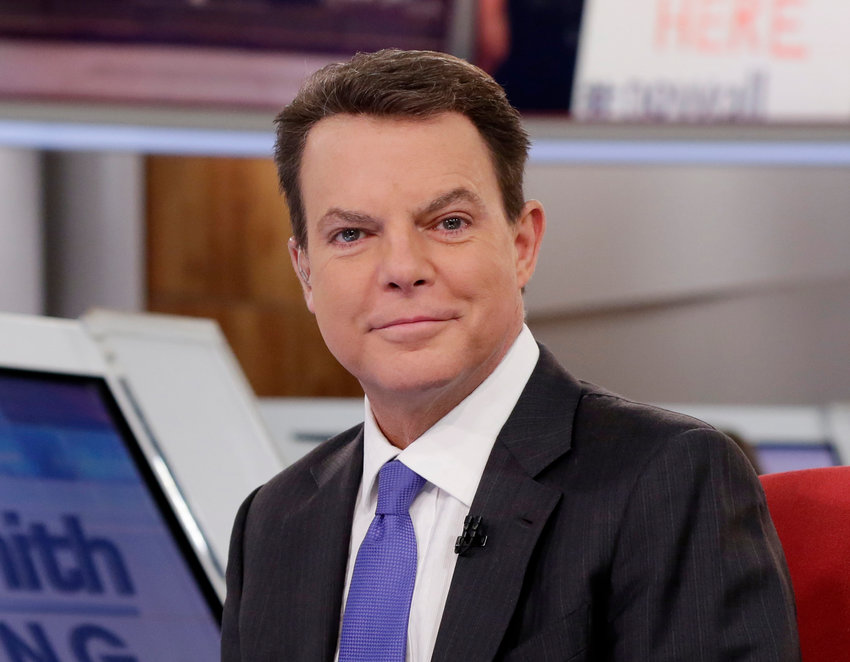 "This Jan. 30, 2017 photo shows Fox News Channel chief news anchor Shepard Smith on The Fox News Deck before his ""Shepard Smith Reporting"" program, in New York. (AP Photo/Richard Drew)"