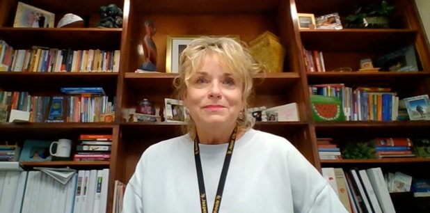 Jasper City Schools Superintendent Dr. Ann Jackson, pictured giving an update in July, said it is encouraging to have just 13 positive COVID-19 cases out of more than 3,000 students and employees.