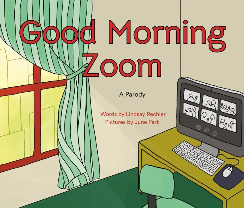 "This cover image released by Philomel shows ""Good Morning Zoom"" by Lindsay Rechler, available October 6. (Philomel via AP)"