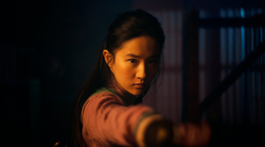 Disney's MULAN Mulan (Yifei Liu) Photo: Film Frame © 2019 Disney Enterprises, Inc. All Rights Reserved.