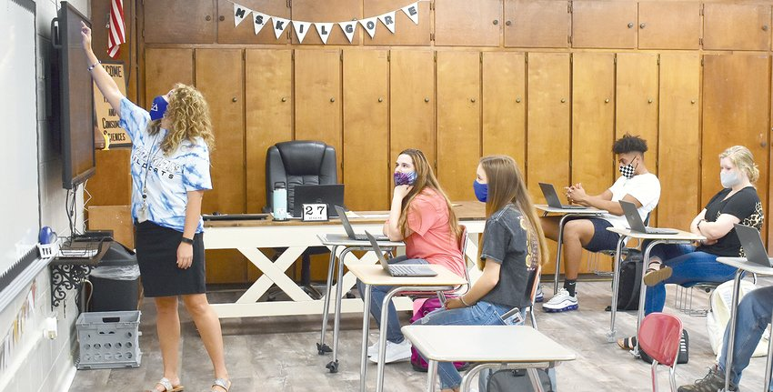 Walker County Schools Superintendent Dr. Joel Hagood has praised the cooperation of students, faculty, and staff during the COVID-19 pandemic.