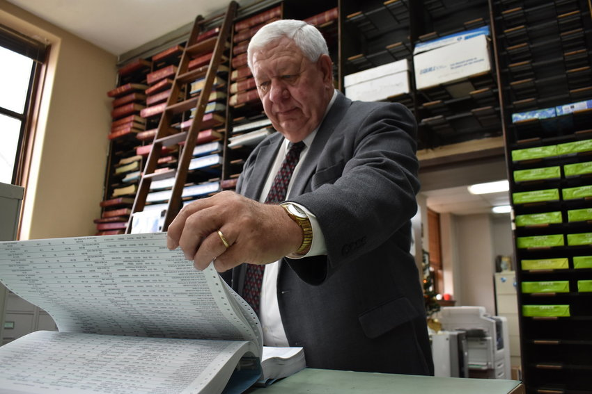 Revenue Commissioner Jerry Guthrie was upset speaking to the Walker County Commission Monday, as he was surprised over a payroll agenda item to essentially change the number of pay periods in a year for elected officials before commissioners decided to table the matter.