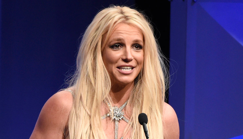 Britney Spears accepts the Vanguard award at the 29th annual GLAAD Media Awards at the Beverly Hilton Hotel on Thursday, April 12, 2018, in Beverly Hills, Calif. (Photo by Chris Pizzello/Invision/AP)